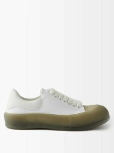 Gucci - Piped Velvet Track Jacket - Mens - Green Multi
