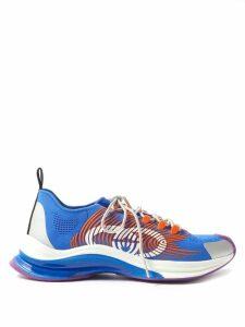 Amiri - Stack Distressed Slim Leg Jeans - Mens - Black