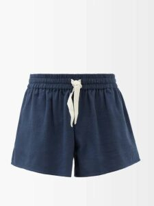 Palm Angels - Heart And Safety Pin Logo Track Pants - Mens - Black