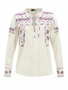 Fear Of God - Distressed Slim Leg Jeans - Mens - Grey