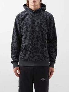 Balmain - Distressed Straight Leg Biker Jeans - Mens - Blue