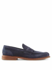 Balmain - Distressed Straight Leg Biker Jeans - Mens - Black