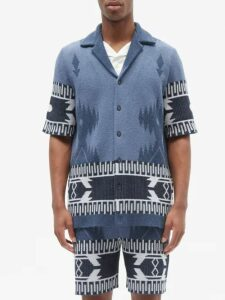 Palm Angels - Rainbow Stripe Technical Jersey Track Pants - Mens - Black Multi