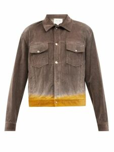 Versace - Hearts And Logo Embroidered Cotton Track Pants - Mens - Black