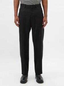 Off-white - Graffiti Logo Slim Leg Jeans - Mens - Light Blue