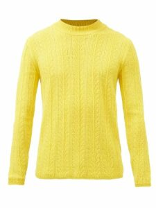 Herno - Single-breasted Quilted-down Jacket - Mens - Black