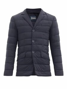 Herno - La Giacca Quilted Down Jacket - Mens - Navy