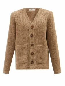 Herno - Single Breasted Down Quilted Jacket - Mens - Navy