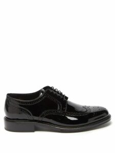 Fendi - Logo Jacquard Striped Jersey Track Pants - Mens - Black
