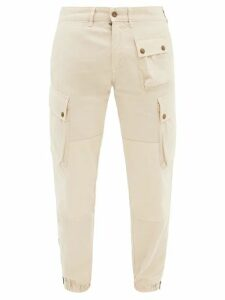 Officine Générale - Bohus Knitted Wool Sweater - Mens - Khaki