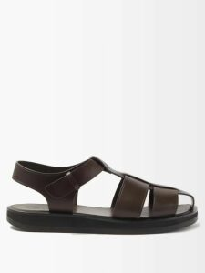 Derek Rose - Basel Straight Leg Pyjama Trousers - Mens - Grey