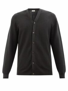 Derek Rose - Geometric Pattern Cotton Poplin Pyjama Trousers - Mens - Blue Multi