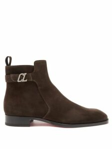 Derek Rose - Geometric Pattern Cotton Poplin Pyjama Trousers - Mens - Navy Multi
