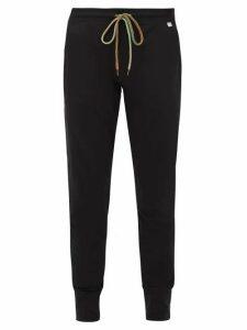 Paul Smith - Cotton Straight Leg Track Pants - Mens - Black