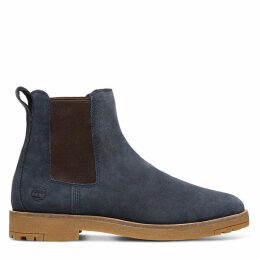Timberland Folk Gentleman Chelsea Boot For Men In Navy Navy, Size 12.5