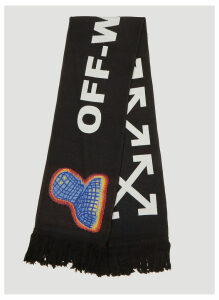 Off-White Thermo Scarf in Black size One Size