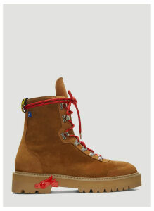 Off-White Hiking Boots in Brown size EU - 45