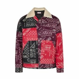 Palm Angels Printed Padded Shell Jacket
