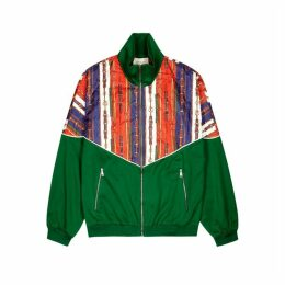 Gucci Printed Quilted Jersey Jacket