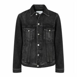 Givenchy Black Printed Denim Jacket