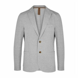 Eleventy Grey Cotton-blend Jacket