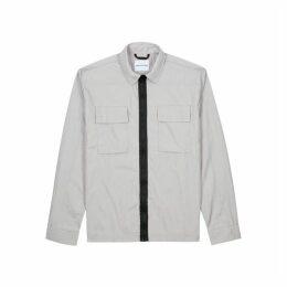 Mki Miyuki Zoku Light Grey Nylon Jacket