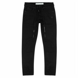 Off-White Black Slim-leg Jeans