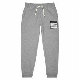 Maison Margiela Grey Cotton-jersey Sweatpants