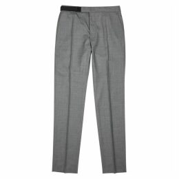 Maison Margiela Grey Wool-blend Trousers