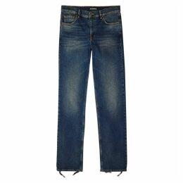 Balenciaga Blue Slim-leg Jeans