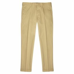 Paul Smith Camel Cotton Chinos