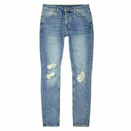 Ksubi Van Winkle No Glory Blue Denim Jeans