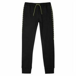 Fendi Black Jersey Sweatpants