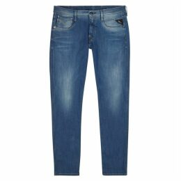 Replay Anbass Hyperflex Slim Leg Jeans