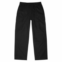Our Legacy Black Cotton Cargo Trousers