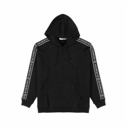 Givenchy Black Logo-jacquard Cotton Sweatshirt