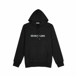 Helmut Lang Helmut Laws Black Cotton Sweatshirt