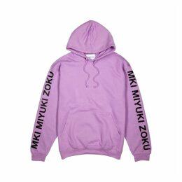 Mki Miyuki Zoku Lilac Cotton-blend Sweatshirt