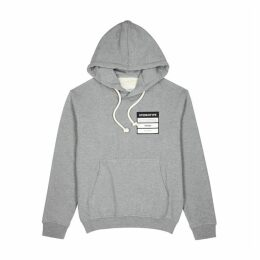 Maison Margiela Grey Cotton-jersey Sweatshirt