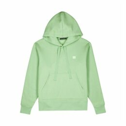 Acne Studios Green Cotton-jersey Sweatshirt