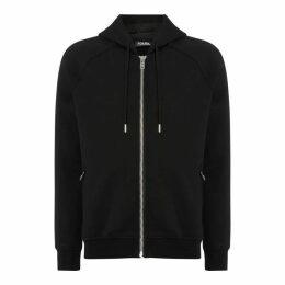Karl Lagerfeld Writing Hood Jacket