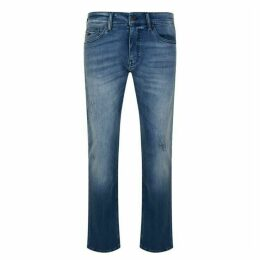 Boss Delaware Slim Fit Distressed Jeans