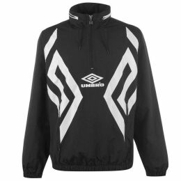 Umbro Cav Cagoule Jacket - Black/White