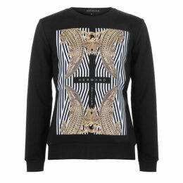 Hermano Mens Printed Sweater