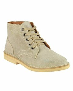 Amblers Desert Boot Taupe