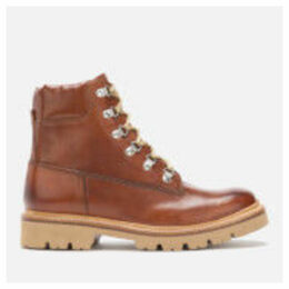 Grenson Men's Rutherford Hand Painted Leather Hiking Style Boots - Tan - UK 7 - Tan