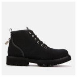 Buscemi Men's Lotta Canvas Boots - Black