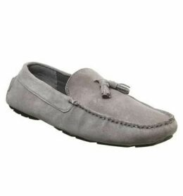Office Learner Driver GREY SUEDE