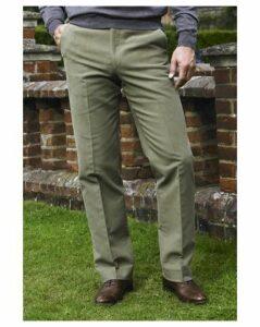 Brook Taverner Moleskin Trousers Short