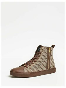 Guess Luiss Mid High-Top Sneakers